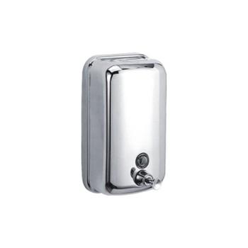 Дозатор жидкого мыла (800мл.металл)Accoona A182.Хром