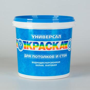 Краска Радуга Универсал для потолков, 3,5кг