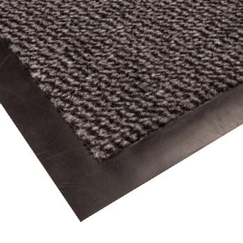 Коврик грязезащитный Faro 04, серый, 40х60 см.