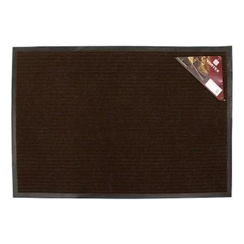 Коврик на резиновой основе 40*60см, коричневый Vortex