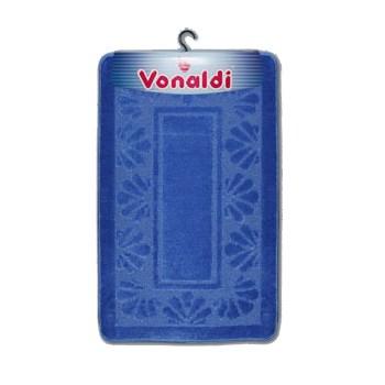 Коврик д/ванной Vonaldi Standart (60смх100см) голубой