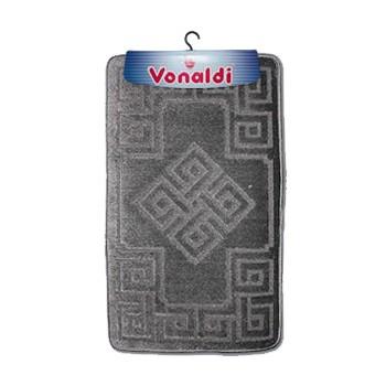 Коврик д/ванной Vonaldi Standart (60смх100см) серый