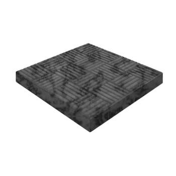Плитка тротуарная Шахматы черн.(300х300х30)