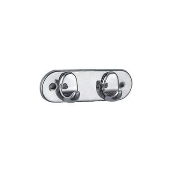 Крючок хромированный двойной (А11101-2)