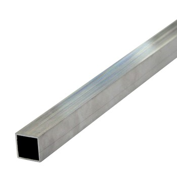 Труба квадратная 25х25х1,5 мм, алюминий, 2м