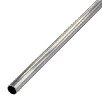 Труба круглая 15х1 мм, алюминий, 1м