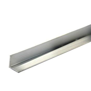Уголок равнополочный 25х25х1,2 мм, алюминий, 1м