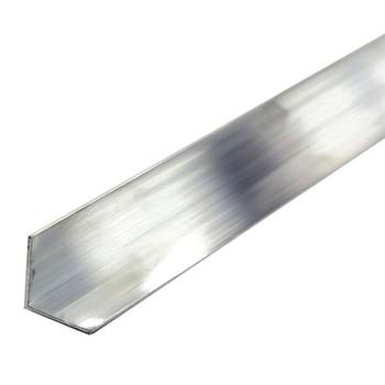 Уголок равнополочный 50х50х2 мм, алюминий, 2м