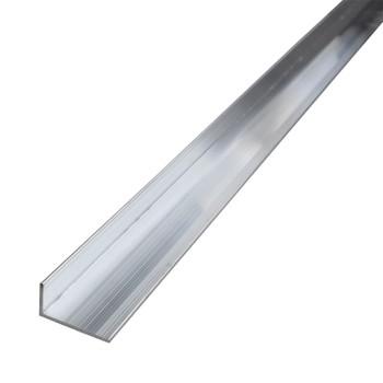 Уголок равнополочный 20х10х1,2мм, алюминий 1м