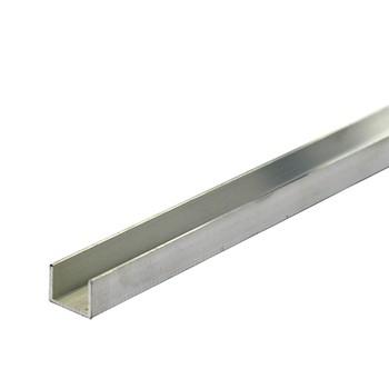 Швеллер 15х2х8х1,5 мм, алюминий, 2м