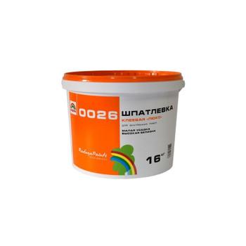 Шпатлевка масляно-клеевая Радуга-0026 Люкс, 0,9 кг