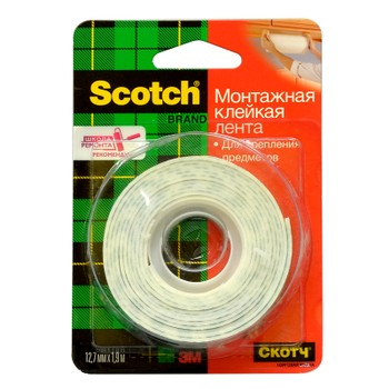Клейкая лента Scotch 12ммх1,9м