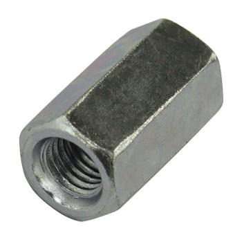 Гайка DIN6334 соединительная оцинк. М20 (1 шт) - пакет Tech-Krep