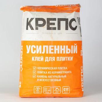 Клей для плитки (С1 T) Крепс Усиленный, 25кг