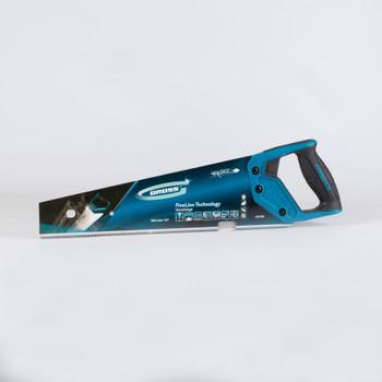 Ножовка по дереву 7-8 TPI зуб-3D 2-компонентная рукоятка GROSS 400 мм