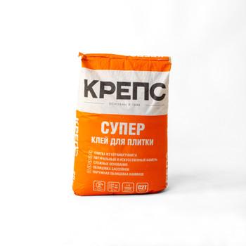 Клей для плитки Крепс Супер, 25 кг