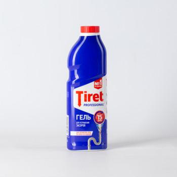 Средство д/прочистки труб Tiret, гель, 1л