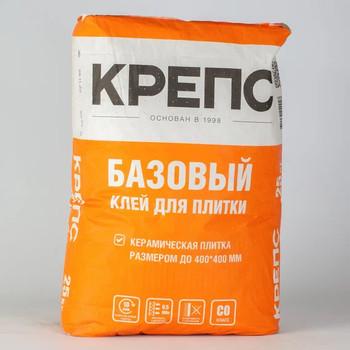 Клей для плитки Крепс Базовый, 25 кг