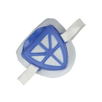 Маска техническая с пластмассовым корпусом и защитным фильтром