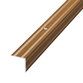 Профиль угловой 20×20×1350мм орех (ПУ 05.1350.088)