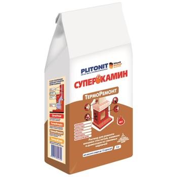 Кладочный состав Плитонит СуперКамин ТермоРемонт, 5 кг