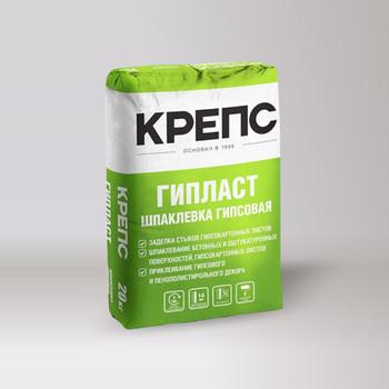 Шпаклевка гипсовая Крепс Гипласт, 20 кг