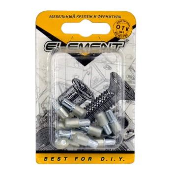 Стеклодержатель 5х16мм никель (12 шт) Element