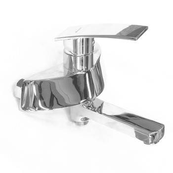 Смеситель для ванны H14 A6014 с коротким изливом, хром Accoona