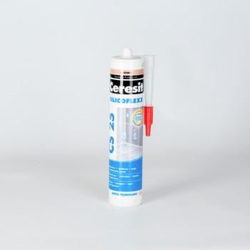Затирка Ceresit CS25 эластичная силиконовая (карамель), 280 мл