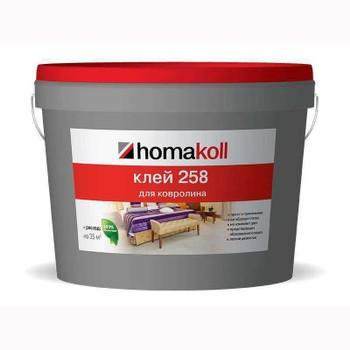 Клей Homakoll для ковролина (258, 7 кг, 300-500 г/м2, срок хранения 24 мес., морозостойкий)