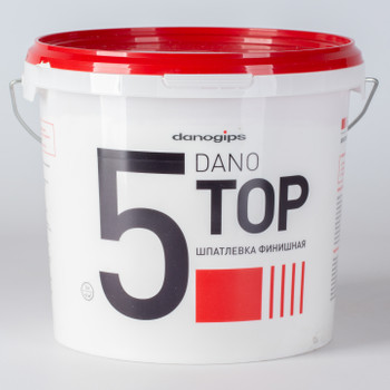 Шпаклевка полимерная Dano Top 5 3,5 л