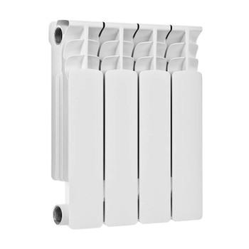 Радиатор бимет. MAXTERM MB500-4 (глубина 80)