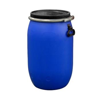 Бочка 65 литров с крышкой на обруч