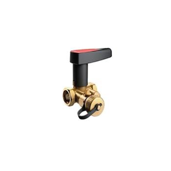 Клапан запорный «BALLOREX» Basic с дренажем Р/Р ДУ20, Ру 25 Kvs=4,65 м3/ч, 44490000-001003