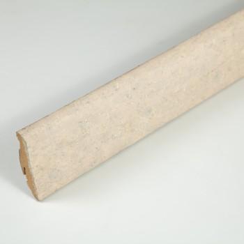 Плинтус Braim шпонированный (539480, Пробка кремовая, 58*19*2400 мм, FN)