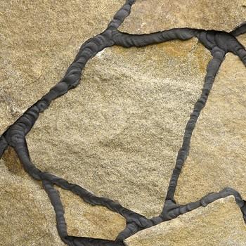 Камень натуральный Плитняк гранитный Фактурный (толщина 4-6 см), 5 кв.м