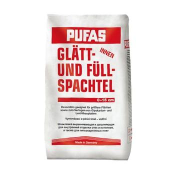 Шпатлевка Пуфас №3 для выравнивания неровностей 25 кг Glatt-und Fullspachtel