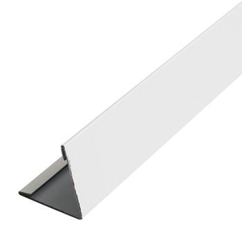 Планка угла наруж. метал. (белый RAL 9003) 50х50х3000
