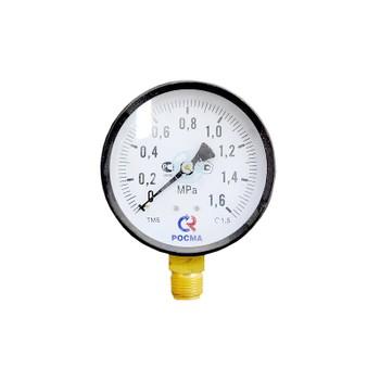 Манометр радиальный 16 бар (кгс/см2), d=150мм, М20х1.5, ТМ-610Р, РОСМА