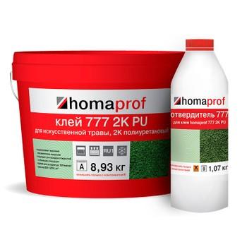 Клей Homaprof 777 2K PU для искусственной травы, 10кг