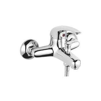 Смеситель д/ванны ACCOONA 43 A6043 (однорычаж., кор.излив) силумин. хром