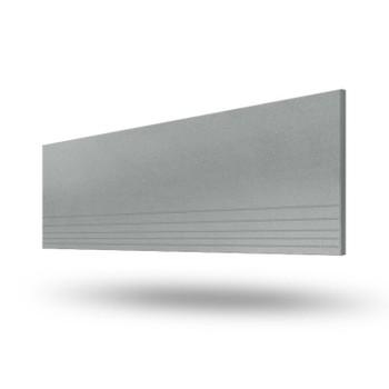 Керамогранит UF003 ректиф ступень 1200Х295мм, серый, г.Снежинск