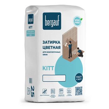 Затирка Bergauf Kitt белая, 25 кг