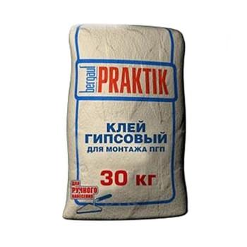 Клей гипсовый для монтажа ПГП Praktik, 30кг
