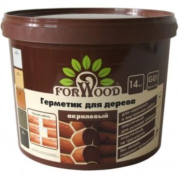 Герметик д/дерева Forwood (тик), 14кг