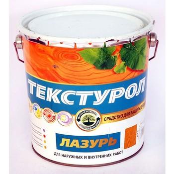 Средство для защиты древесины с блеском Текстурол Лазурь Калужница, 10 л