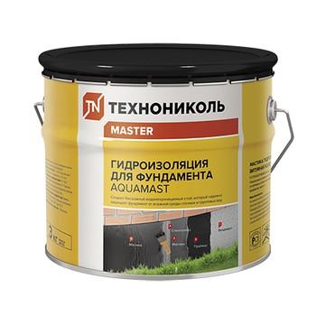 Мастика битумная AquaMast Фундамент 3 кг