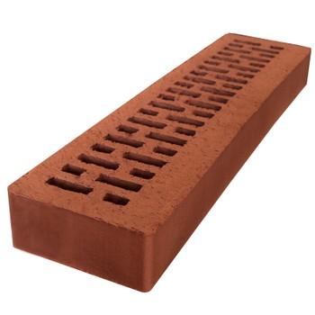 Кирпич АВС- клинкер лицевой М150/200 (490x120x52) красный, Ригель формат 1,6НФ, Ревда