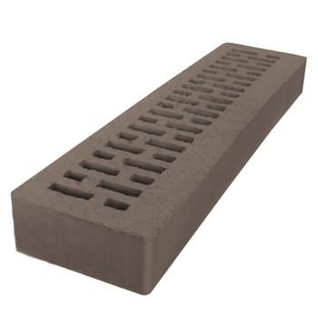 Кирпич АВС- клинкер лицевой М150/200 (490x120x52) шоколад, Ригель формат 1,6НФ, Ревда