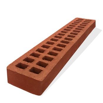 Кирпич АВС- клинкер лицевой М150/200 (490x95x52) красный, Ригель формат 1,2НФ, Ревда
